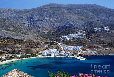Deep Blue Photograph - Beautiful Amorgos by Aiolos Greek Collections
