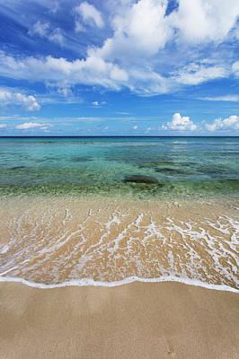 Photograph - Beautiful And Calm Cane Bay  St. Croix by Jenna Szerlag