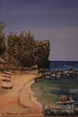 Apo Painting - Beautiful Apo by Richard John Holden RA