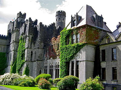Photograph - Beautiful Ashford Castle by Denise Mazzocco