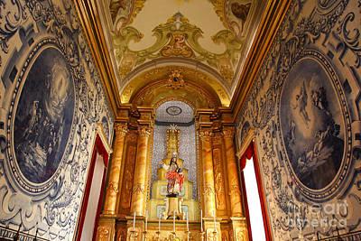 Beautiful Azorean Church Art Print by Gaspar Avila
