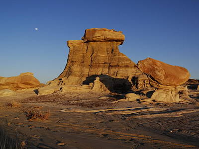 Photograph - Beautiful Badlands by Qing Yang