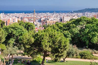 Barcelona Photograph - Beautiful Barcelona Spain by Matthias Hauser