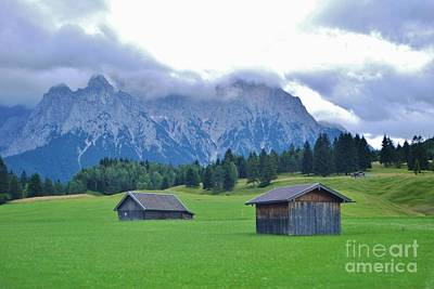 Art Print featuring the photograph Beautiful Bavaria by William Wyckoff
