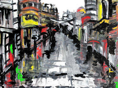 Belgrade Painting - Beautiful Belgrade by Sladjana Lazarevic