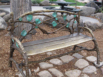 Photograph - Beautiful Bench by Tammy Sutherland