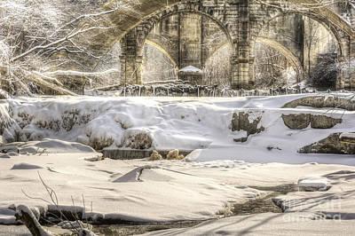Berea Wall Art - Photograph - Beautiful Berea Falls In Winter by Michael Shake
