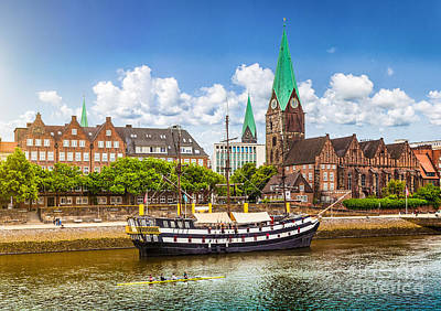 Germany Photograph - Beautiful Bremen by JR Photography