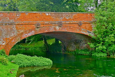 Photograph - Beautiful Brick Bridge by Denise Mazzocco