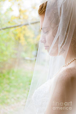 Photograph - Beautiful Bride by Cheryl Baxter
