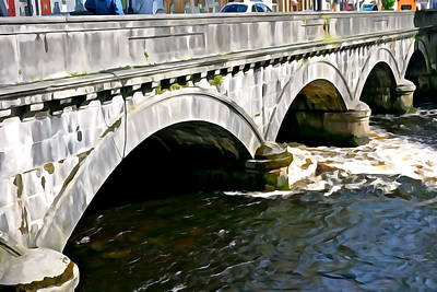 Photograph - Beautiful Bridge by Charlie and Norma Brock