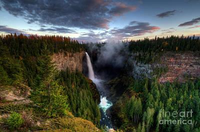 Thelightscene Photograph - Beautiful British Columbia by Bob Christopher