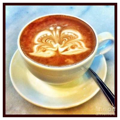 Photograph - Beautiful Butterfly Latte by Susan Garren