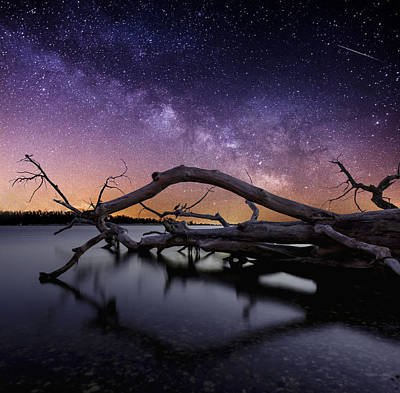 Meteor Photograph - Beautiful Chaos by Aaron J Groen