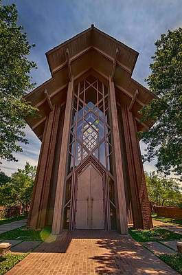 Worth Photograph - Beautiful Chapel by Joan Carroll