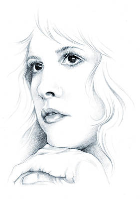 Stevie Nicks Drawing - Beautiful Child by Johanna Pieterman
