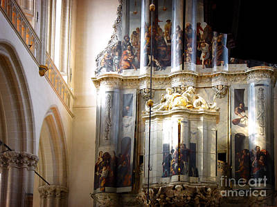 Art Print featuring the photograph Beautiful Church Interior by Michael Edwards