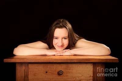 Nude Photograph - Beautiful Classic Nude by Jochen Schoenfeld