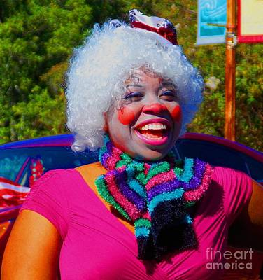 Photograph - Beautiful Clown by Annette Allman