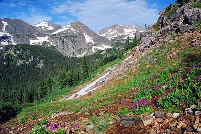 Photograph - Beautiful Colorado Mountain Summer by Cascade Colors
