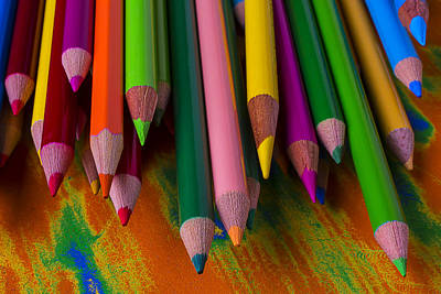 Photograph - Beautiful Colored Pencils by Garry Gay