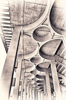 Beautiful Concrete Art Print by Robert FERD Frank