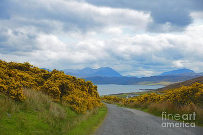 Photograph - Beautiful Country Spring Storm Clouds Highlands Scotland by Schwartz Nature Images