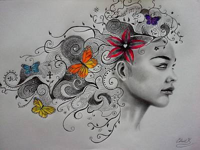 Drawing - Beautiful Creatures by Christopher Kyle