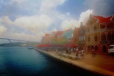 Digital Art - Beautiful Curacao by Carrie OBrien Sibley