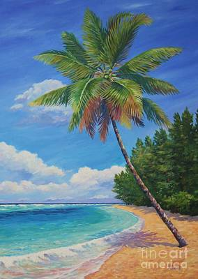 Barbados Painting - Beautiful Day by John Clark