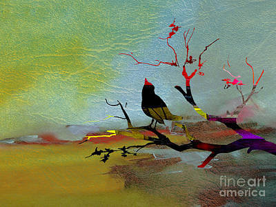 Animal Art Mixed Media - Beautiful Day by Marvin Blaine