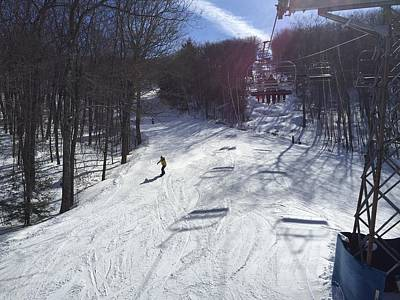 Photograph - Beautiful Day To Go Skiing by Nancy-Fay Hecker