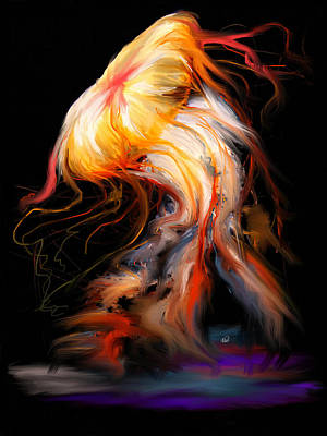 Beautiful Death - Jelly Fish Art Print