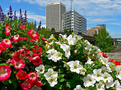 Photograph - Beautiful Downtown Tacoma by Jean Wright