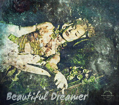 Digital Art - Beautiful Dreamer by Absinthe Art By Michelle LeAnn Scott