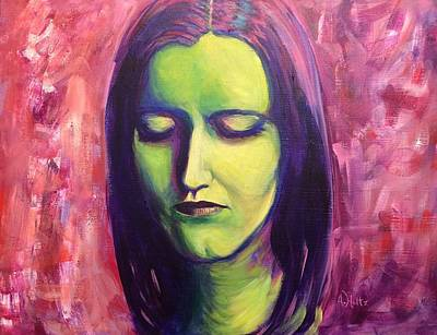 Painting - Beautiful Dreamer by Arlene Holtz