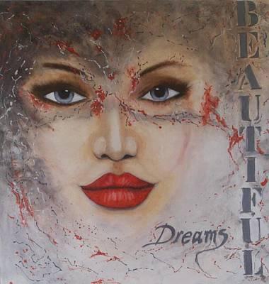 Moet Wall Art - Painting - Beautiful Dreams  by Sonja  Roosenhart