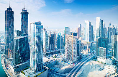 Photograph - Beautiful Dubai City by Anna Om