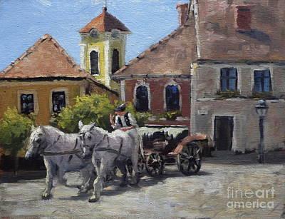 Beautiful European Town Szentendre Art Print
