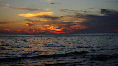 Photograph - Beautiful Evening Sunset.....  The Best Of Coastal Living  by Rosemarie E Seppala