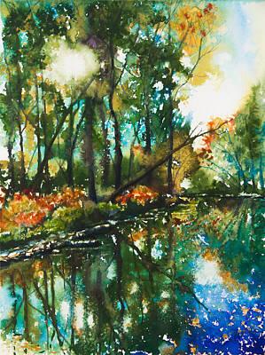 Beautiful Fall Original by Patricia Allingham Carlson