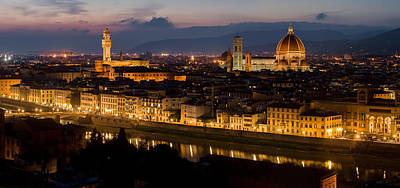 Photograph - Beautiful Florence Italy - I by Carl Amoth