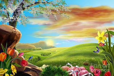 Beautiful Flower Art Art Print