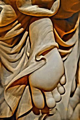 Digital Art - Beautiful Foot by Joan Reese