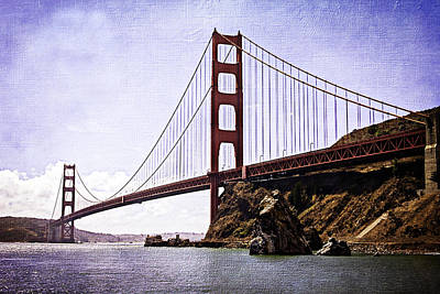 Outlook Photograph - Beautiful Golden Gate by Jacque The Muse Photography