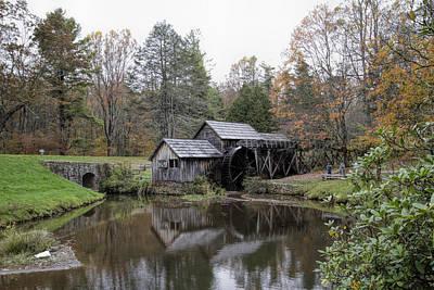 Beautiful Historical Mabry Mill Art Print