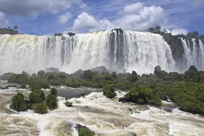 Beautiful Iguazu Waterfalls  Art Print