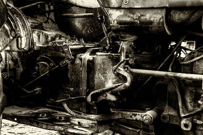 Photograph - Old Farm Engines by Doc Braham
