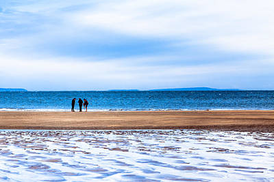 Beautiful Irish Beach On A Winter Day Art Print by Mark E Tisdale