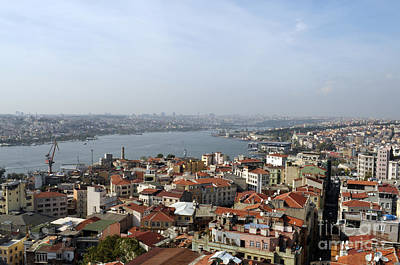 Photograph - Beautiful Istanbul by Haleh Mahbod